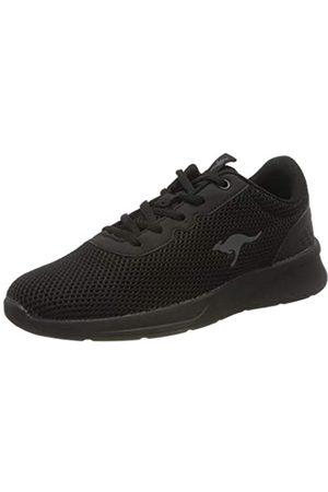KangaROOS KangaROOS Damen KF-A Deal Sneaker, Schwarz (Jet Black/Mono 5500)