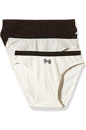 Dim Damen Slips - Damen Les Pockets Coton Slips Unterhose
