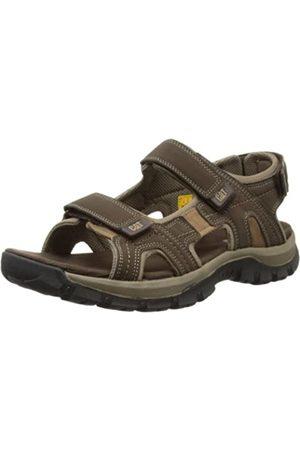 Cat Footwear CAT Footwear Herren GILES Sandalen, Braun (Mens Dark Brown)