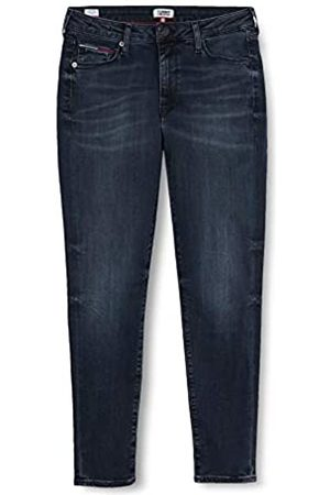 Tommy Hilfiger Tommy Jeans Damen Sylvia High Rise Sup Sky ANK Gdk Straight Jeans