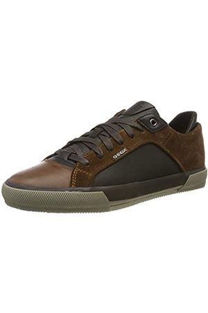 Geox Geox Herren U KAVEN B Sneaker, Braun (Browncotto/Dk Coffee C6g6t)