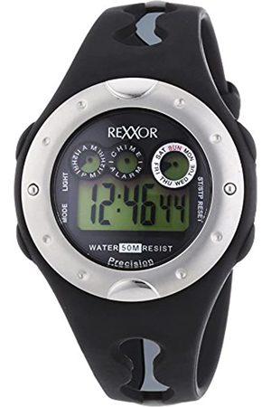 Rexxor Rexxor Herren-Armbanduhr XL Digital Quarz Kautschuk 239-6068-44