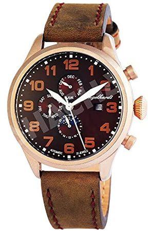 Engelhardt Engelhardt Herren Analog Mechanik Uhr mit Leder Armband 389537029002