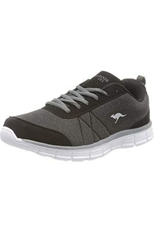 KangaROOS KangaROOS Damen KR-Run REF Sneaker, Schwarz (Jet Black/Steel Grey 5003)