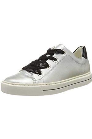 ARA Ara Damen COURTYARD Sneaker, Weiß (Weissgold, Schwarz 05)
