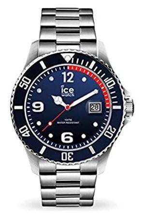 Ice-Watch Ice-Watch - ICE steel Marine silver -e Herrenuhr mit Metallarmband - 017324 (Extra large)
