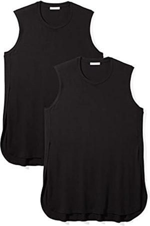 Daily Ritual Daily Ritual Plus Size Jersey Sleeveless Tunic, 2-Pack Hemd, Mehrfarbig Black BLKBLK)