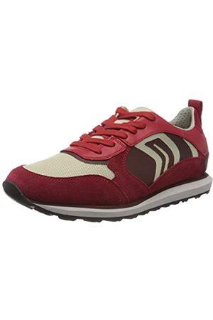Geox Geox Herren U VOLTO D Sneaker, Rot (Red/Lt Beige C7887)