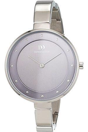 Danish Design Damen Analog Quarz Uhr mit Titan Armband 3326611