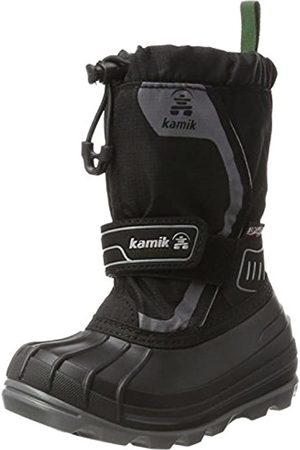Kamik Kamik Unisex-Kinder SNOWCOAST4 Schneestiefel, Schwarz (Black-Noir Blk)