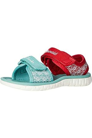 Clarks Clarks Mädchen Surfing Sea T Geschlossene Sandalen, Rot (Red Interest Red Interest)