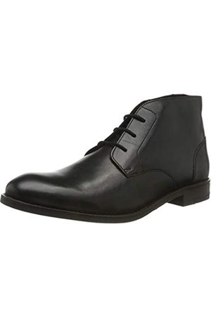 Clarks Clarks Herren Flow Top Klassische Stiefel, Schwarz (Black Leather Black Leather)