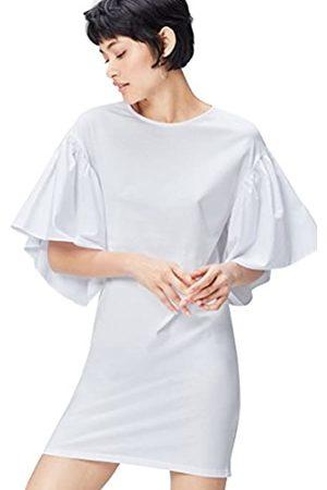 FIND Find. Kleid Damen aus Baumwoll-Jersey mit Glockenärmeln