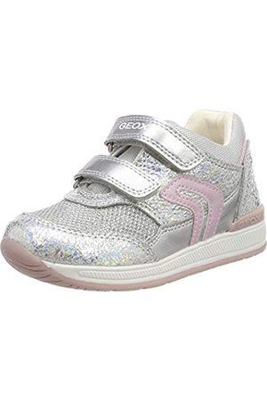 Geox Geox Baby Mädchen B Rishon Girl a Sneaker, Silber (Iridescent C0776)
