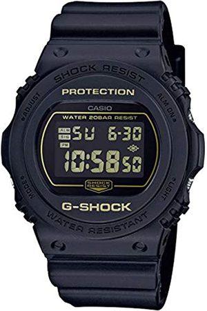 Casio CASIO Herren Digital Quarz Uhr mit Resin Armband DW-5700BBM-1ER