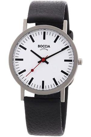 Boccia Boccia Herren-Armbanduhr Leder 521-03