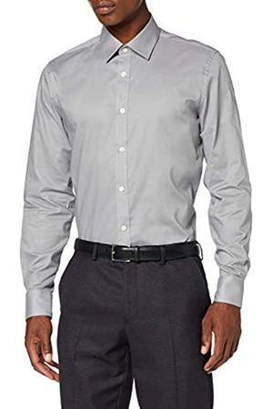 FIND Amazon-Marke: find. Herren Plain Poplin Slim fit Hemd, XS