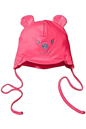Sterntaler Sterntaler Schirmmütze für Mädchen mit Bindebändern, Nackenschutz und niedlichem Bärchen-Motiv, Alter: 4-5 Monate, Größe: 41