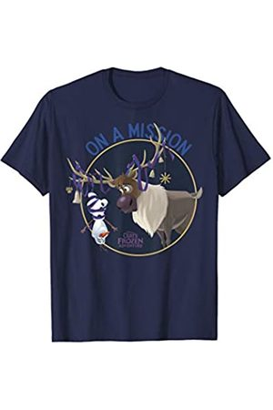 Disney Disney Frozen Olaf And Sven On A Mission Circle Portrait T-Shirt