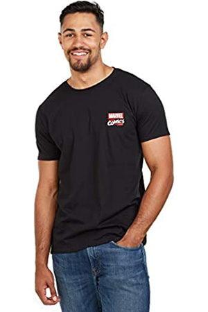 Marvel Marvel Herren Stack Logo-Mens XXL T-Shirt