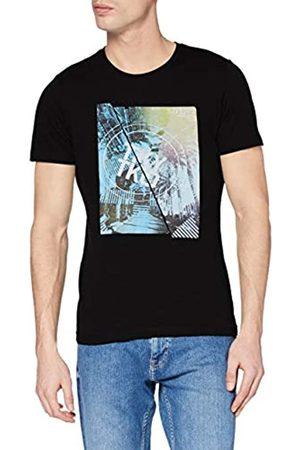 s.Oliver S.Oliver Herren 130.10.003.12.130.2024829 T-Shirt, 9999 Grey/Black