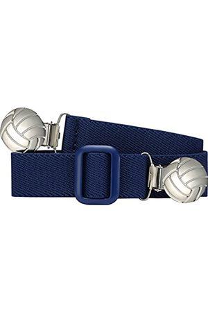 Playshoes Jungen Gürtel - Unisex - Kinder Gürtel 601210 Elastischer Kindergürtel mit Fußball Clips, passend bei Größe 74-110