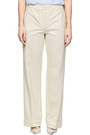 s.Oliver S.Oliver BLACK LABEL Damen Loose Fit: Wide leg-Hose cream 36.REG