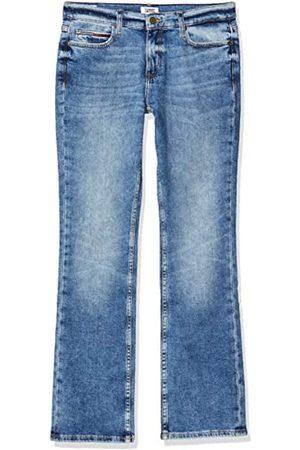 Tommy Hilfiger Damen Straight - Damen Tj 1979 Mid Rise Bootcut Dsylt Straight Jeans