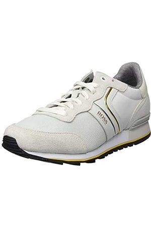 HUGO BOSS BOSS Herren Parkour_Runn_nymx2 Sneaker, Weiß (Natural 107)