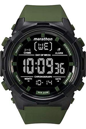 Timex Timex Herren Digital Uhr mit Harz Armband TW5M22200