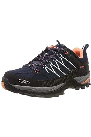 CMP Damen Rigel Low Wmn Shoes Wp Trekking-& Wanderhalbschuhe, (B.Blue-Giada-Peach 92ad)
