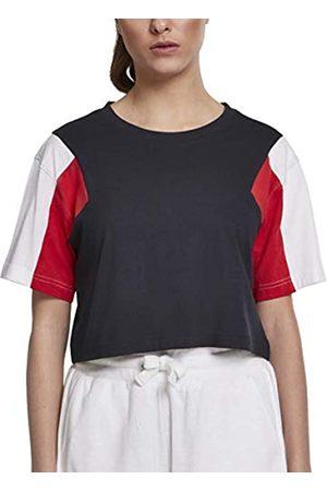 Urban classics Urban Classics Damen T-Shirt Ladies 3-Tone Short Oversize Tee L
