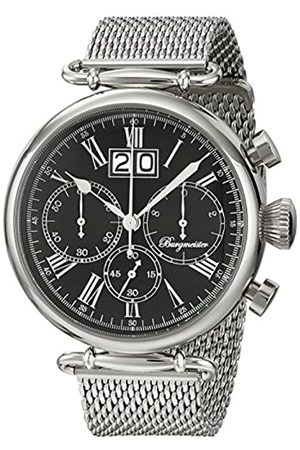 Burgmeister Burgmeister Armbanduhr für Herren mit Analog-Anzeige, Chronograph mit Edelstahl Armband - Wasserdichte Herrenarmbanduhr mit zeitlosem