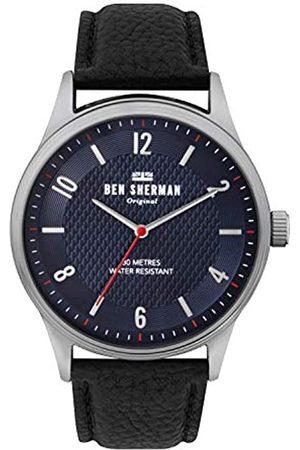 Ben Sherman Ben Sherman Herren Analog Quarz Uhr mit Leder Armband WB025UB