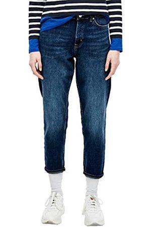 s.Oliver S.Oliver RED Label Damen Regular Fit: Tapered Ankle Leg-Jeans 46
