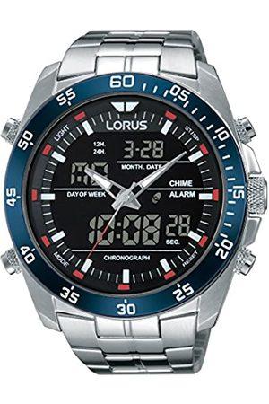 Lorus Sport Herren-Uhr Chronograph Edelstahl mit Metallband RW623AX9