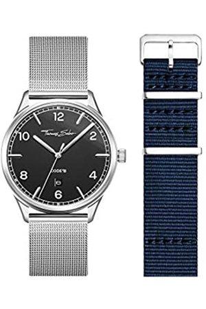 Thomas Sabo THOMAS SABO Unisex Code TS Uhr und Armband Edelstahl Milanaisearmband LOOK19_02_014