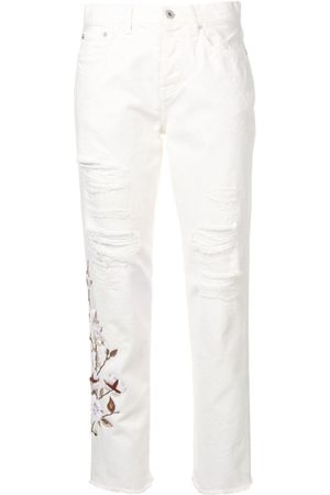 OFF-WHITE Jeans im Distressed-Look
