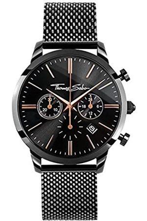 Thomas Sabo Thomas Sabo Herren Armbanduhr Chronograph Quarz Edelstahl WA0247-202-203-42 mm