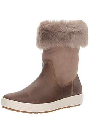 Ecco ECCO Damen Womens Soft 7 TRED Boot Hohe Stiefel, Braun (Navajo Brown/Moon Rock 57511)