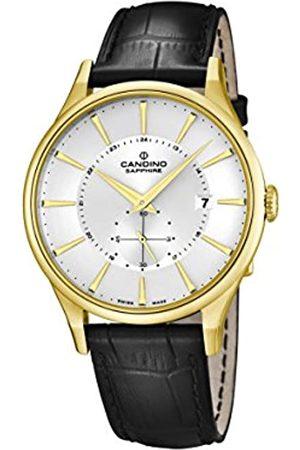 Candino Candino Herren Analog Quarz Uhr mit Leder Armband C4559/1