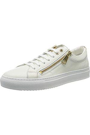 HUGO BOSS HUGO Damen Hoxton Low Cut-MGR 10195704 01 Sneaker, Weiß (White 100)