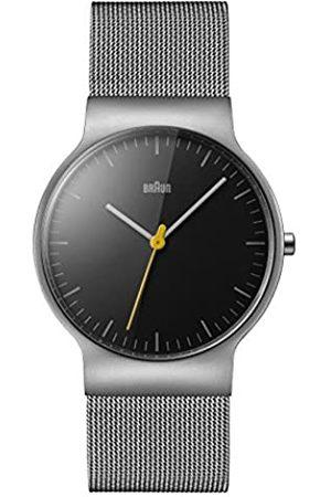 von Braun Braun Unisex-Armbanduhr Analog Quarz Edelstahl BN0211BKSLMHG