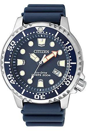 Citizen Citizen Herren Analog Quarz Uhr mit Plastik Armband BN0151-17L