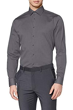 Seidensticker Herren Business - Herren Kent Shaped Fit Business Hemd