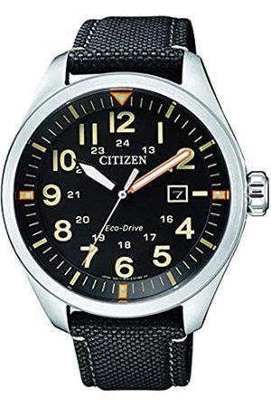 Citizen Citizen Herren Analog Quarz Uhr mit Nylon Armband AW5000-24E