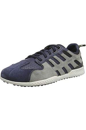 Geox Geox Herren U Snake.2 A Sneaker, Blau (Avio/Lt Grey C4453)