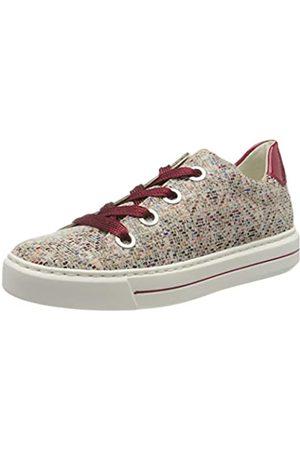 ARA Ara Damen COURTYARD Sneaker, Mehrfarbig (Multi, Rosso 15)