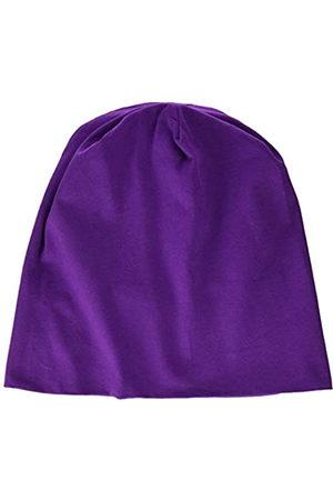 MSTRDS MSTRDS Unisex Erwachsene Jersey Beanie Strickmützen,per Pack Violett (Purple 3424)