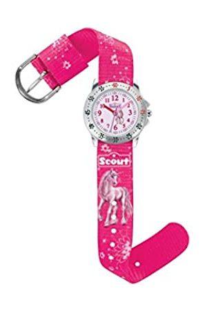 Scout Scout Mdchen Analog Quarz Uhr mit Textil Armband 280378007
